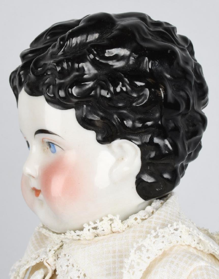 "EARLY CHINA HEAD DOLL, ORIGINAL, 19 1/2"" - 3"