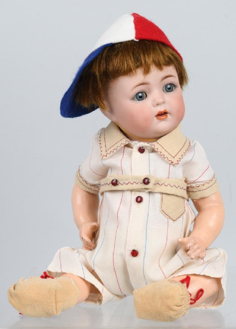 GERMAN SIMON HALBIG K & R BISQUE NO. 121 DOLL