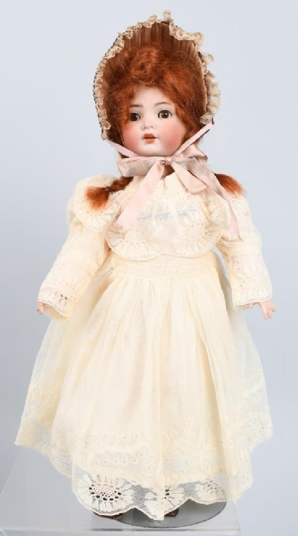 GERMAN SIMON HALBIG K & R BISQUE NO. 117X DOLL