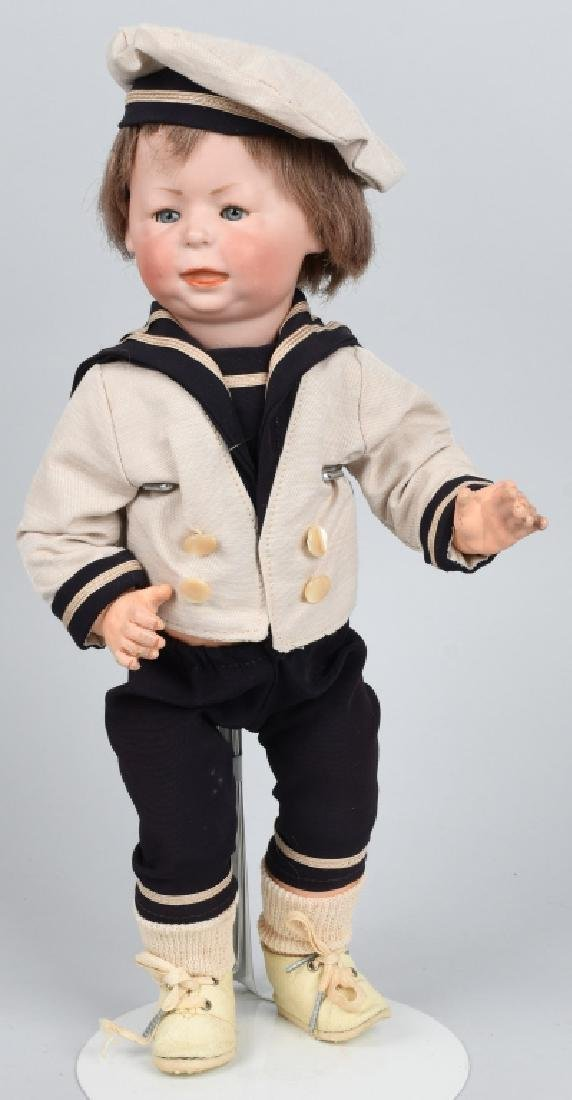 "GERMAN SIMON HALBIG ""FREDDY"", 1428 BISQUE DOLL"