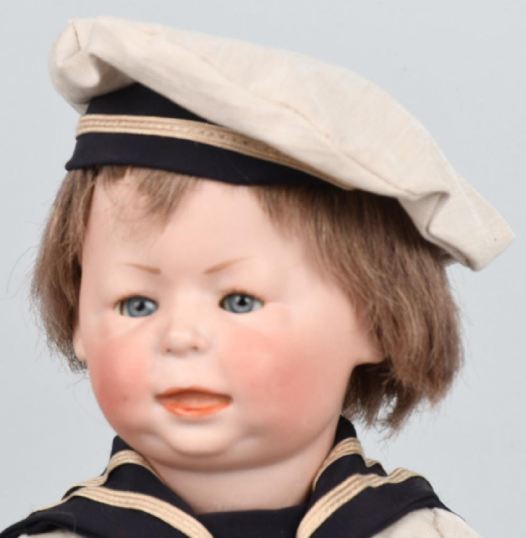 "GERMAN SIMON HALBIG ""FREDDY"", 1428 BISQUE DOLL - 2"