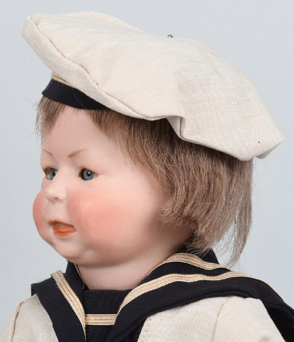 "GERMAN SIMON HALBIG ""FREDDY"", 1428 BISQUE DOLL - 6"