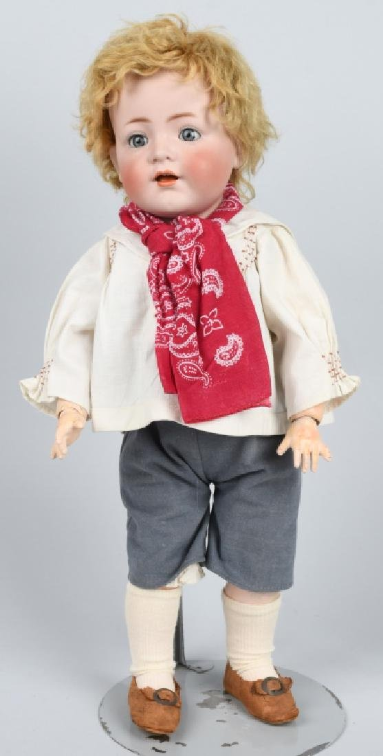 GERMAN SIMON HALBIG K & R BISQUE NO. 128 DOLL
