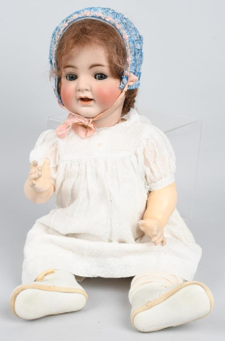 GERMAN SIMON HALBIG K & R BISQUE NO. 126 DOLL