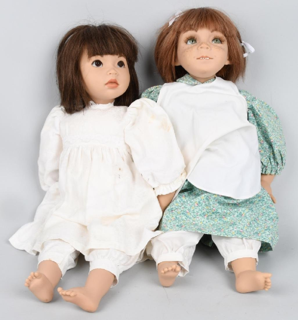 2-GERMAN GROSSLE SCHMIDT DOLLS