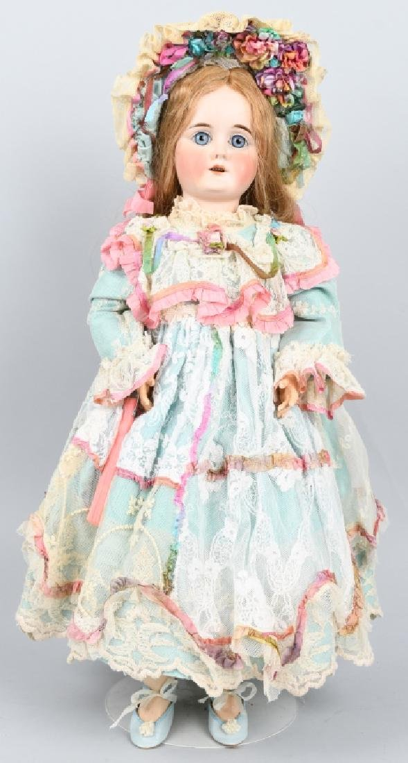 GERMAN KESTNER NO. 13, BISQUE DOLL