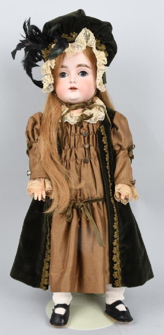GERMAN KESTNER NO. 167, BISQUE DOLL