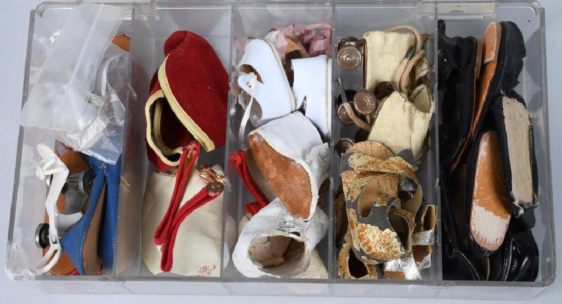 LARGE LOT of VINTAGE DOLL SHOES - 2