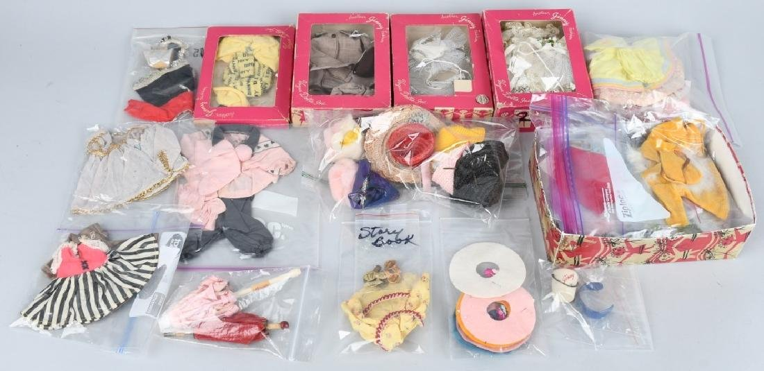 LARGE LOT VOGUE & STORY BOOK DOLL ITEMS