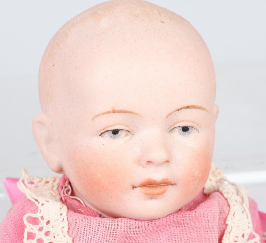 GERMAN BISQUE DOLL & SNOW BABY - 5