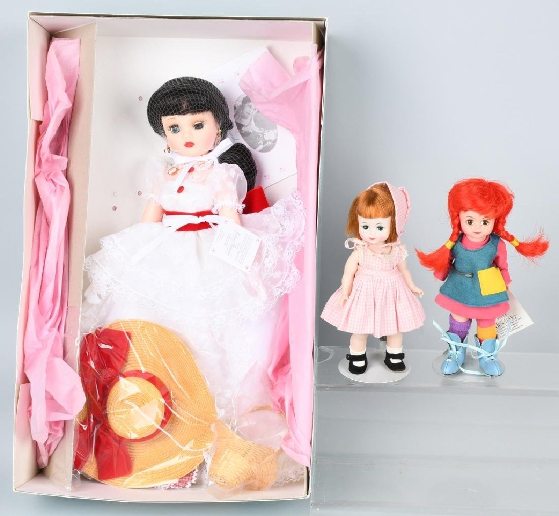 3-MADAME ALEXANDER DOLLS, COCA COLA, & MORE
