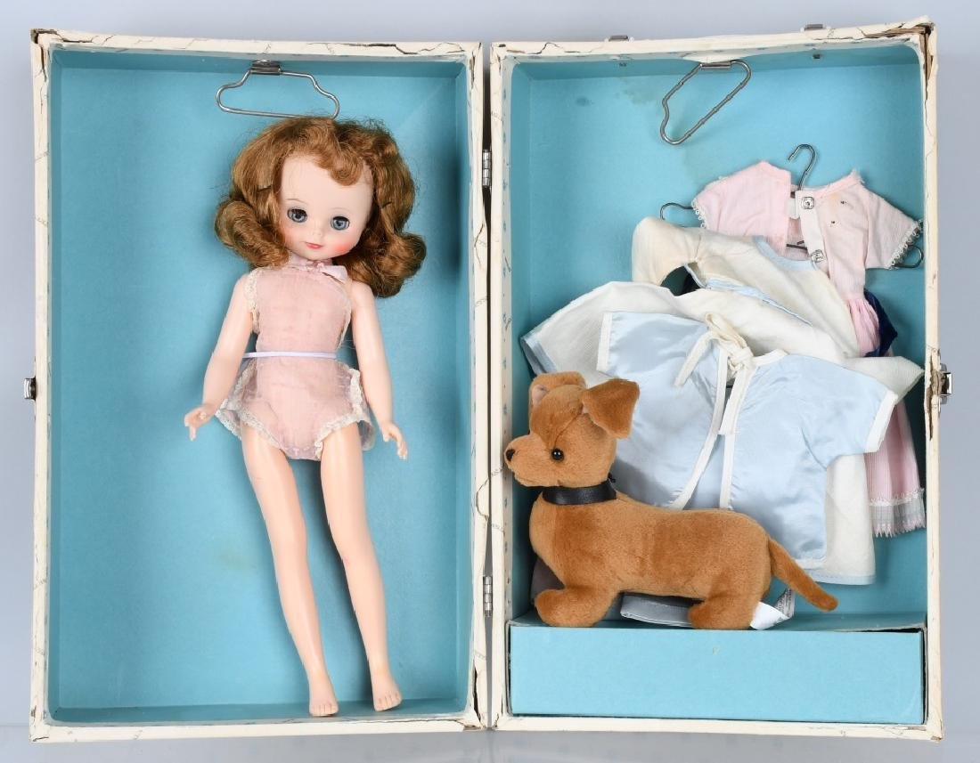 BETSY McCALL DOLL & ACCESSORIES, in TRUNK