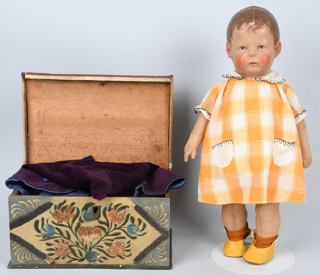 EARLY KATHE KRUSE CLOTH DOLL