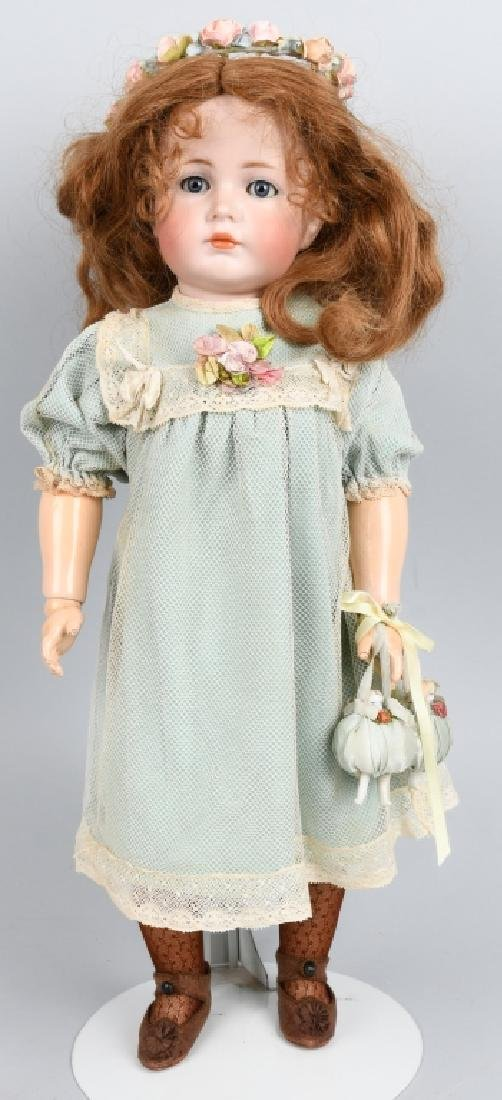 GERMAN K & R, MEIN LIEBLING NO. 117, BISQUE DOLL