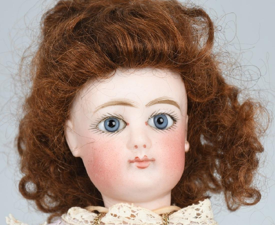 FRENCH BISQUE FG FASHION DOLL - 3