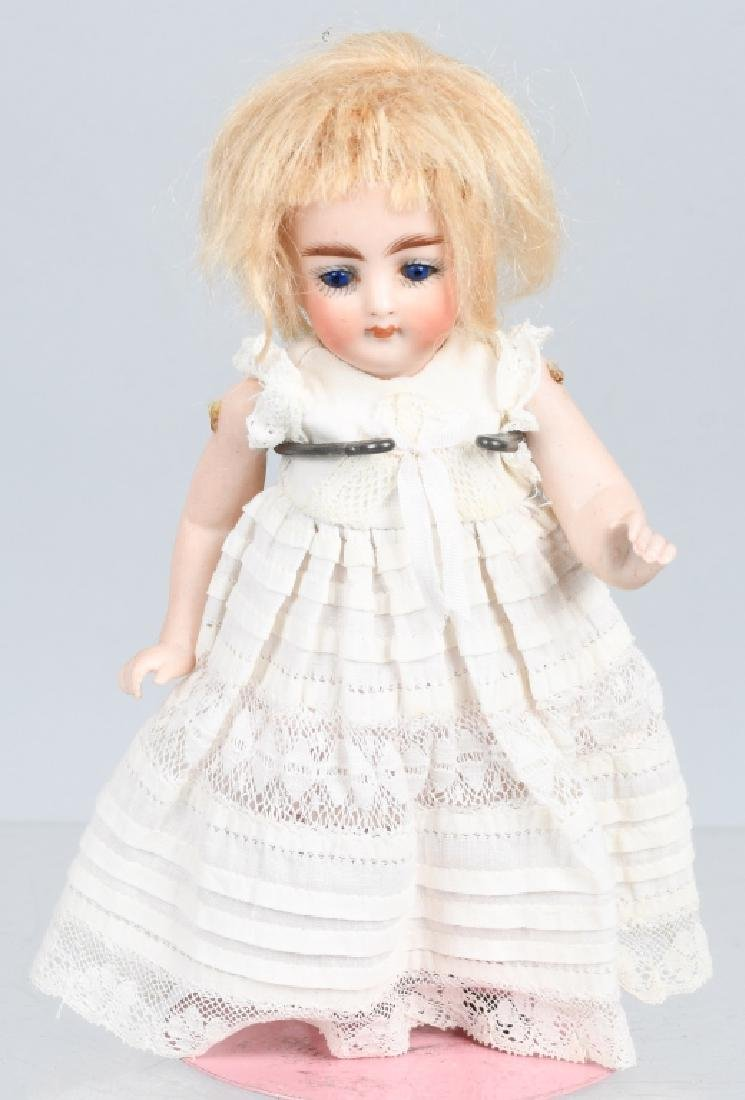 FRENCH all BISQUE JOINTED DOLL