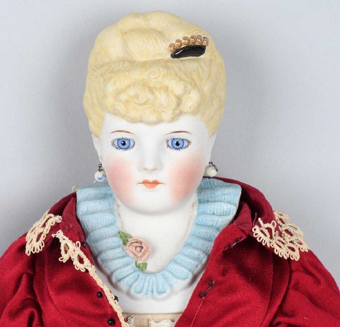 EMMA CLEAR PARIAN SHOULDER HEAD DOLL - 2