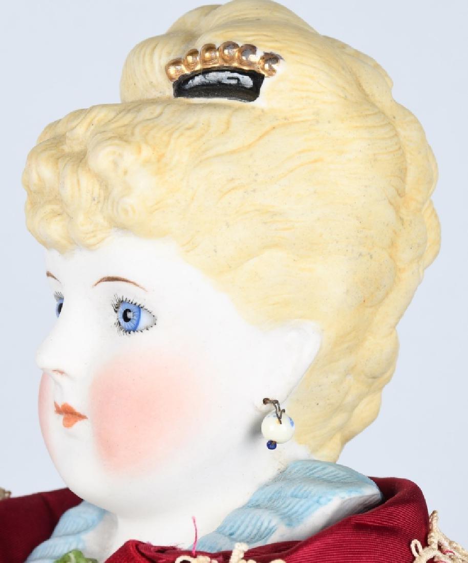 EMMA CLEAR PARIAN SHOULDER HEAD DOLL - 3