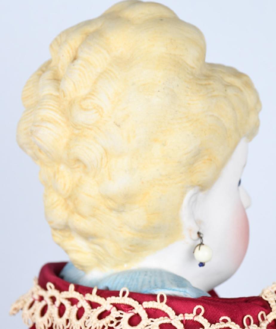 EMMA CLEAR PARIAN SHOULDER HEAD DOLL - 4