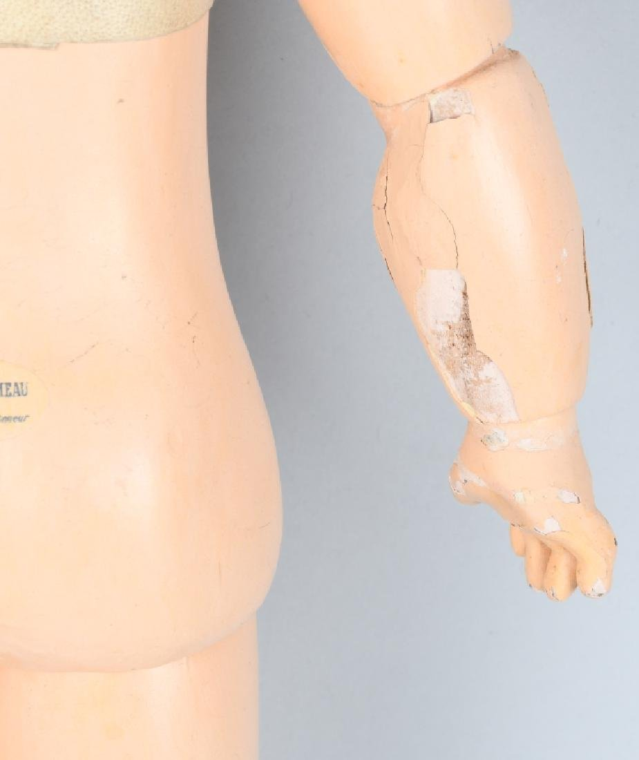 FRENCH BEBE JUMEAU COMPOSITION JOINTED DOLL BODY - 9
