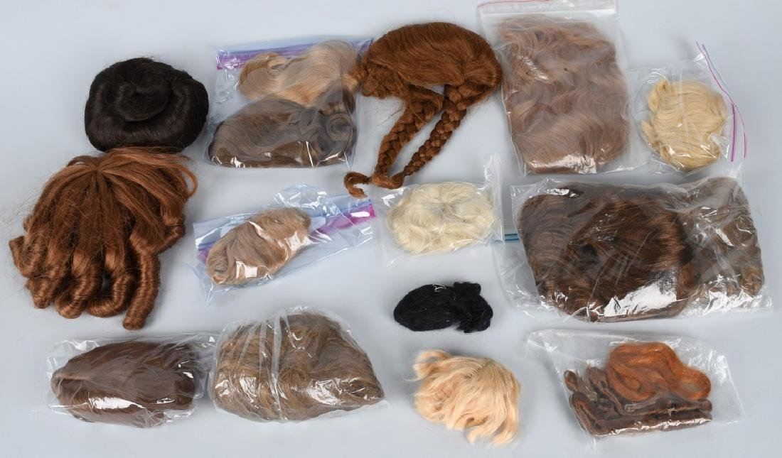 LOT of DOLL WIGS