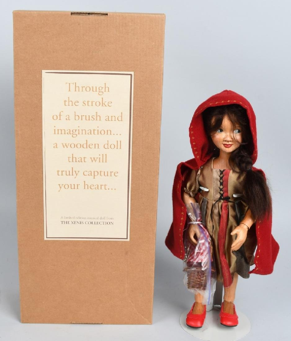 XENIS WOOD LITTLE RED RDING HOOD, BOXED