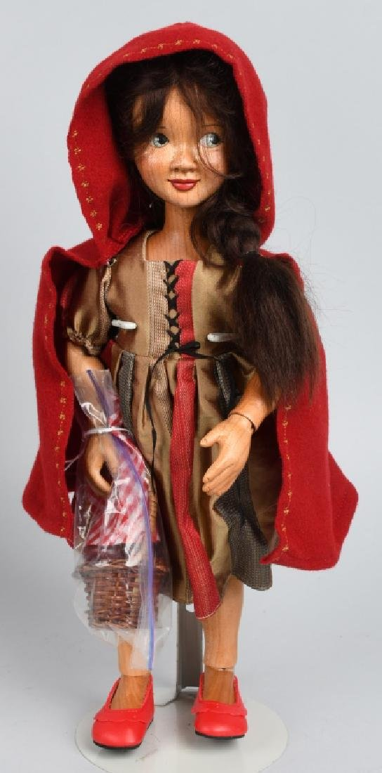 XENIS WOOD LITTLE RED RDING HOOD, BOXED - 2