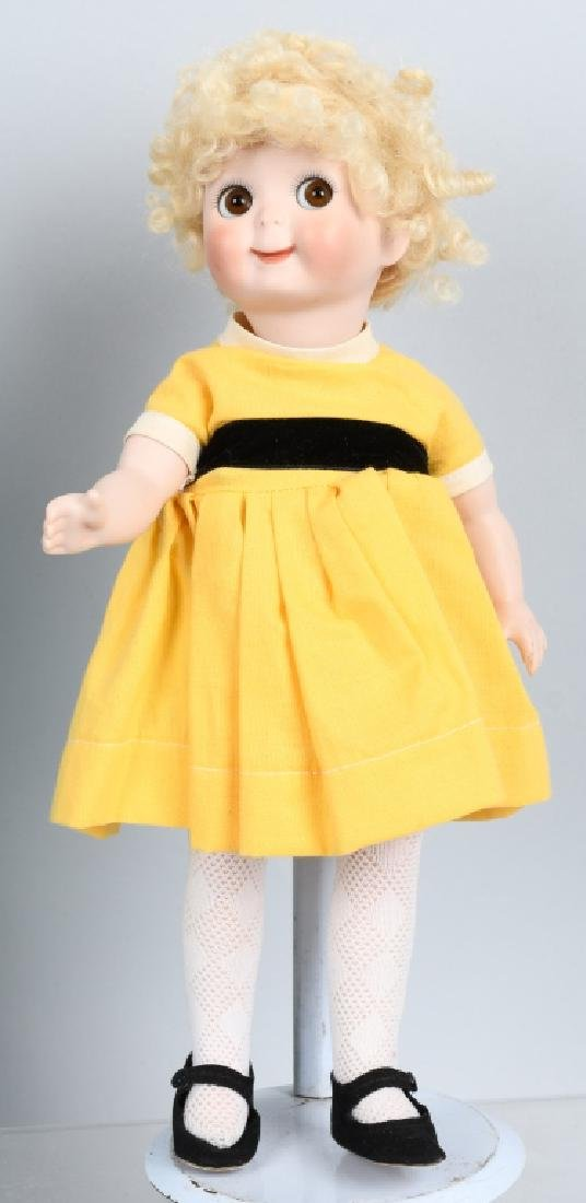 2-CONTEMPORARY BISQUE DOLLS, GOOGLY & MORE - 2