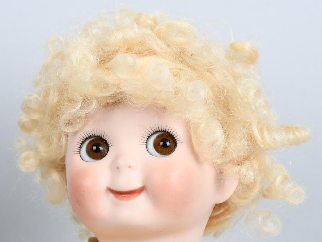 2-CONTEMPORARY BISQUE DOLLS, GOOGLY & MORE - 3