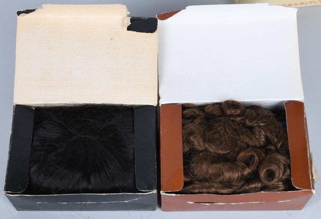 LOT of DOLL WIGS - 3