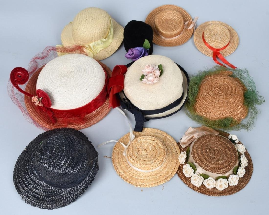 LARGE LOT of DOLL HATS - 3