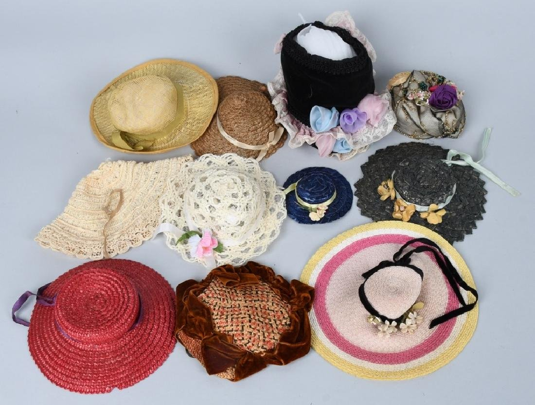 LARGE LOT of DOLL HATS - 4