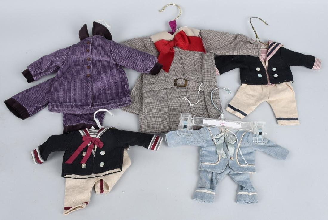 5-HANDMADE DOLL OUTFITS