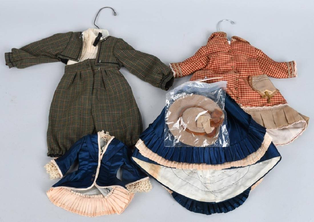 3-VINTAGE DOLL OUTFITS