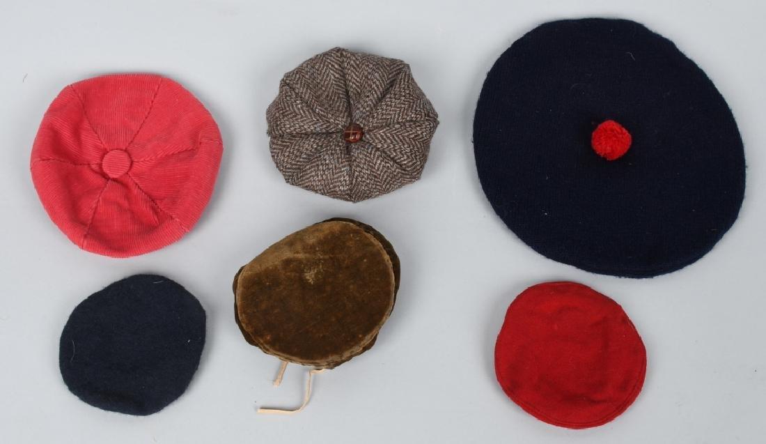 21-DOLL HATS, SEVERAL VINTAGE - 3