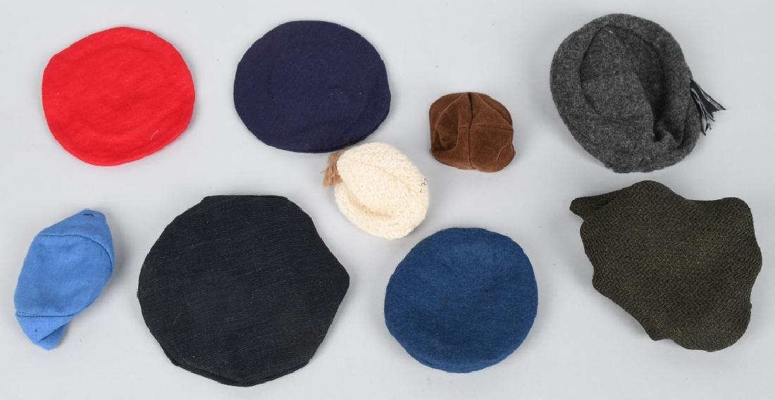 21-DOLL HATS, SEVERAL VINTAGE - 4