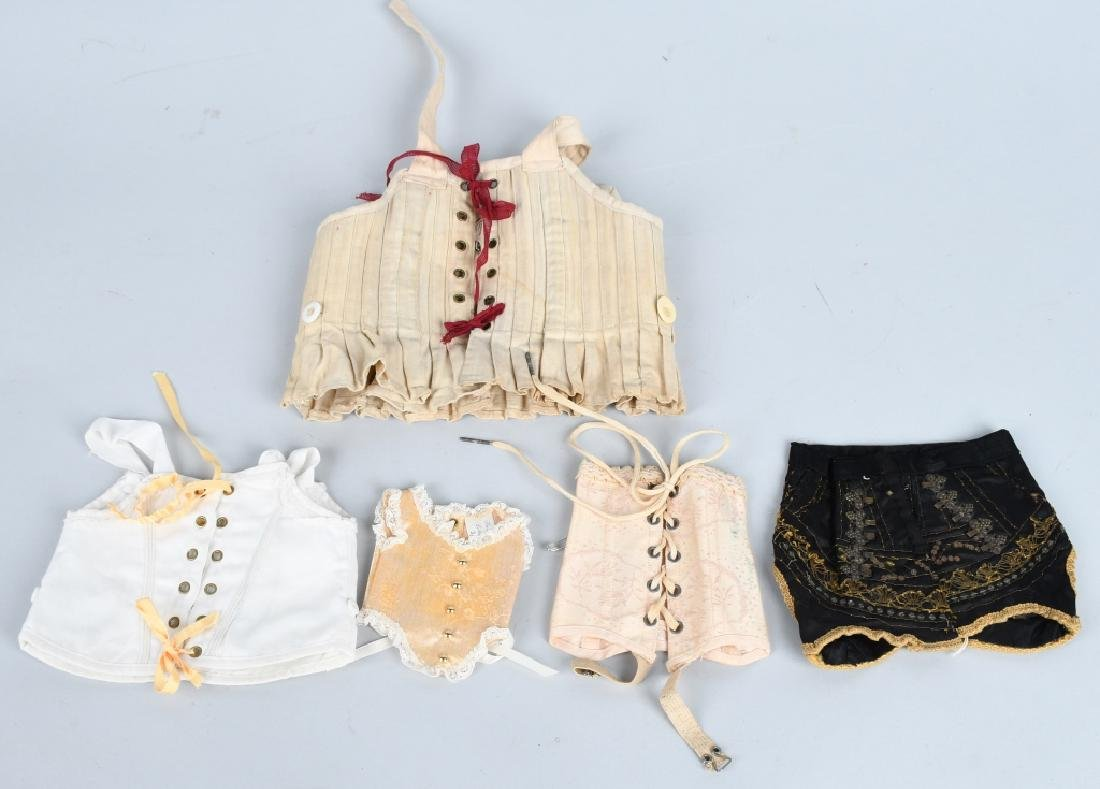 5-DOLL CORSETS and BUSTLE