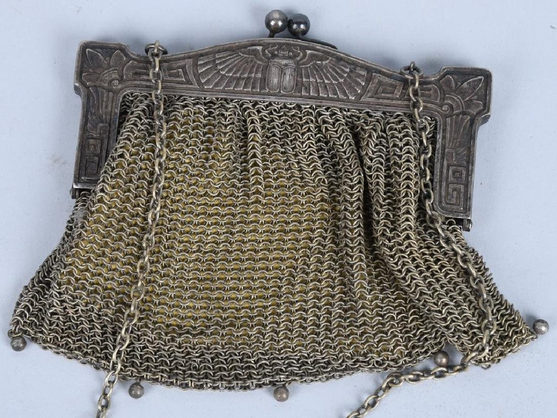 6-MESH PURSES, STERLING, GERMAN SILVER & MORE - 2