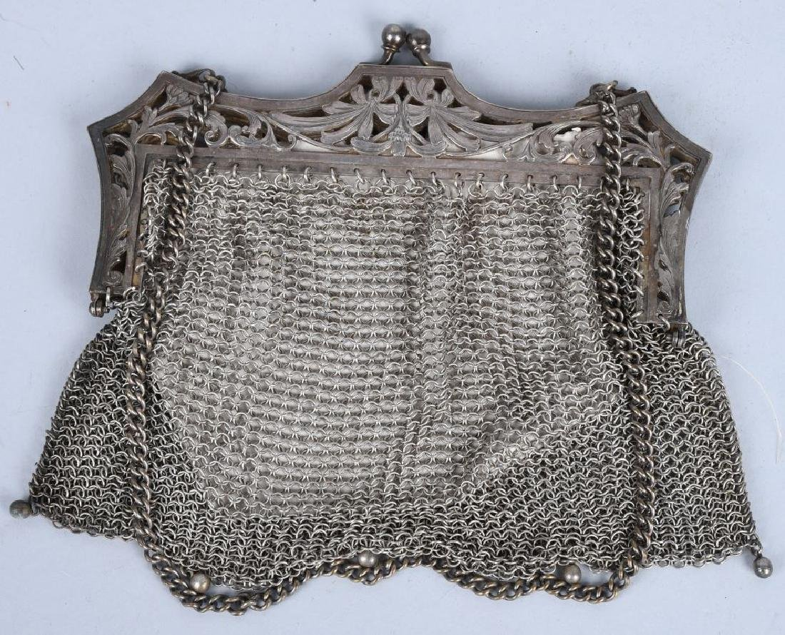 6-MESH PURSES, STERLING, GERMAN SILVER & MORE - 3