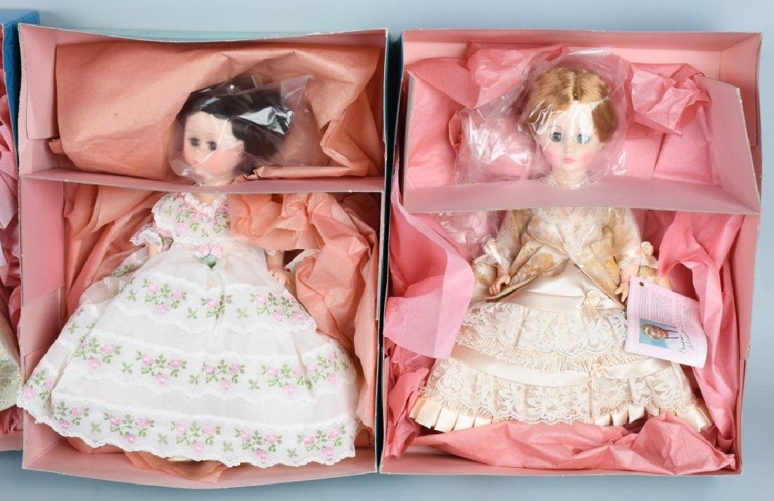 SIX MADAME ALEXANDER FIRST LADY DOLL COLLECTION - 2