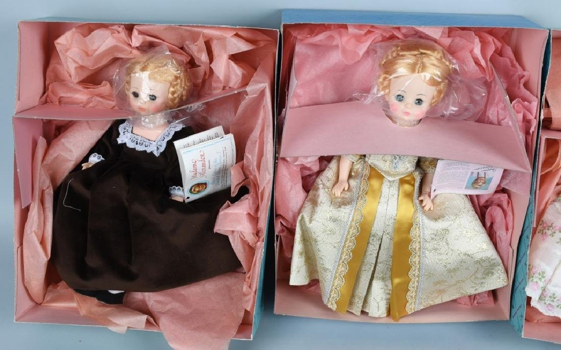SIX MADAME ALEXANDER FIRST LADY DOLL COLLECTION - 3