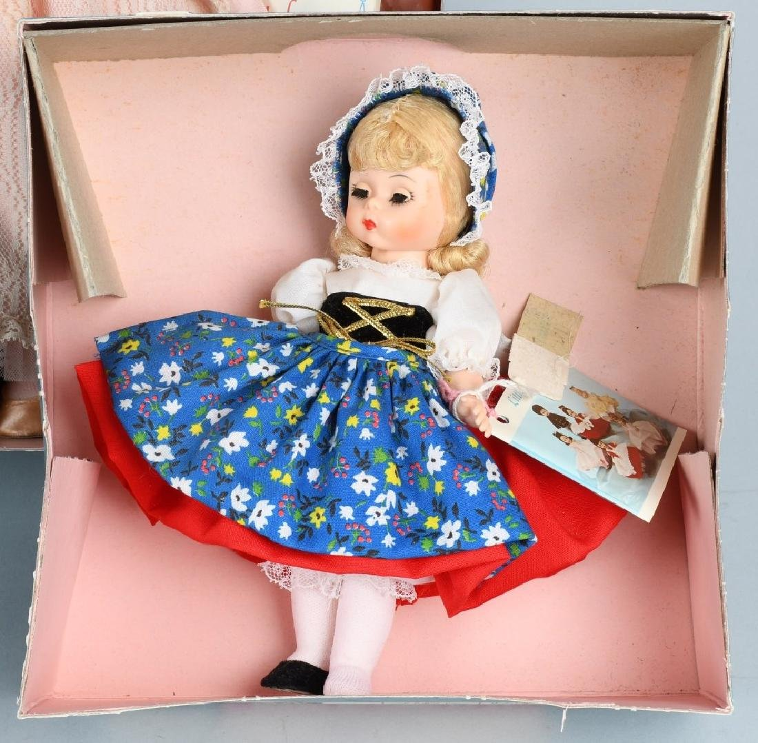 FOUR MADAME ALEXANDER DOLLS - 2