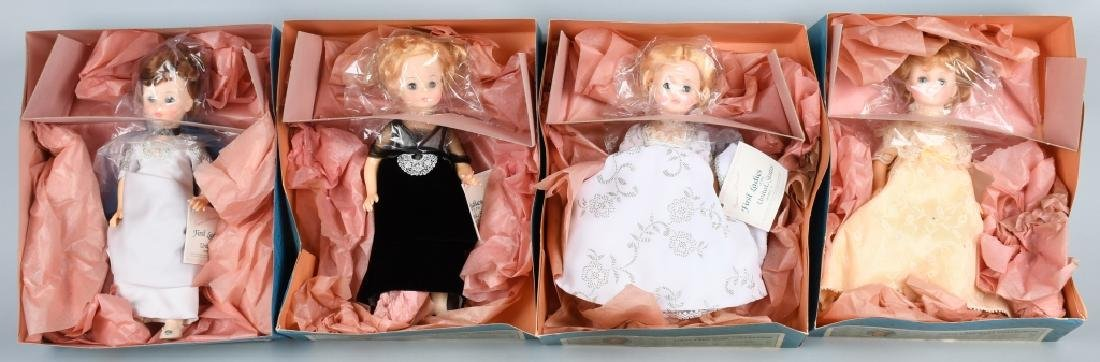 FOUR MADAME ALEXANDER DOLLS