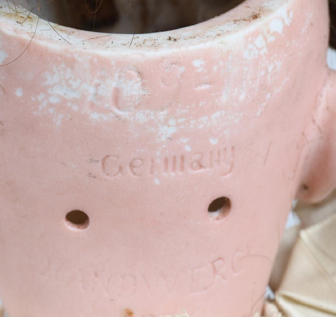 HANDWERCH BISQUE HEAD GERMAN DOLL - 5