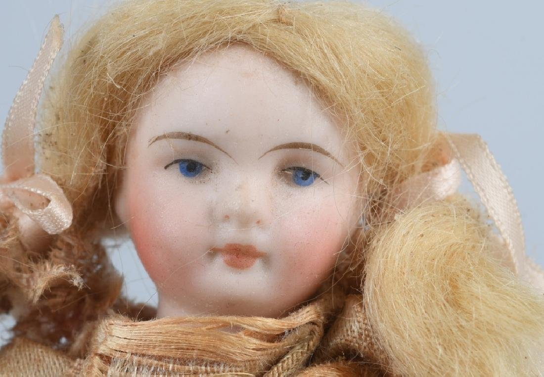 GROUPING OF TWO BISQUE DOLLS AND MORE - 4