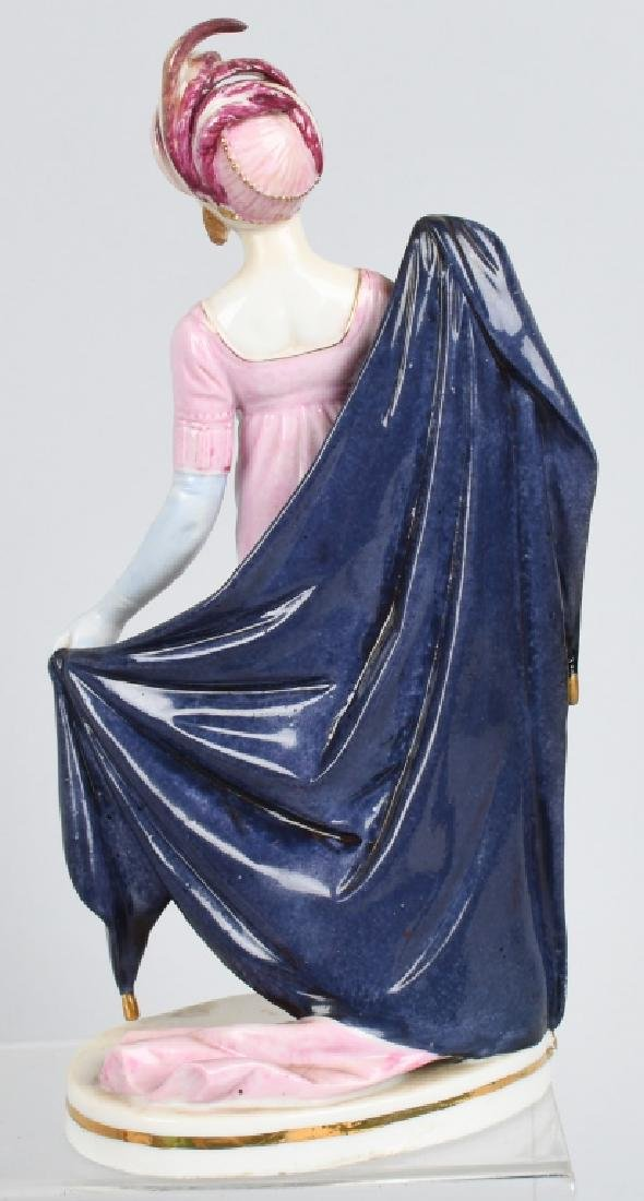 GROUPING PORCELAIN AND BISQUE FIGURES - 3