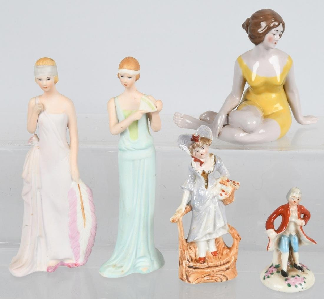 GROUPING PORCELAIN AND BISQUE FIGURES - 4