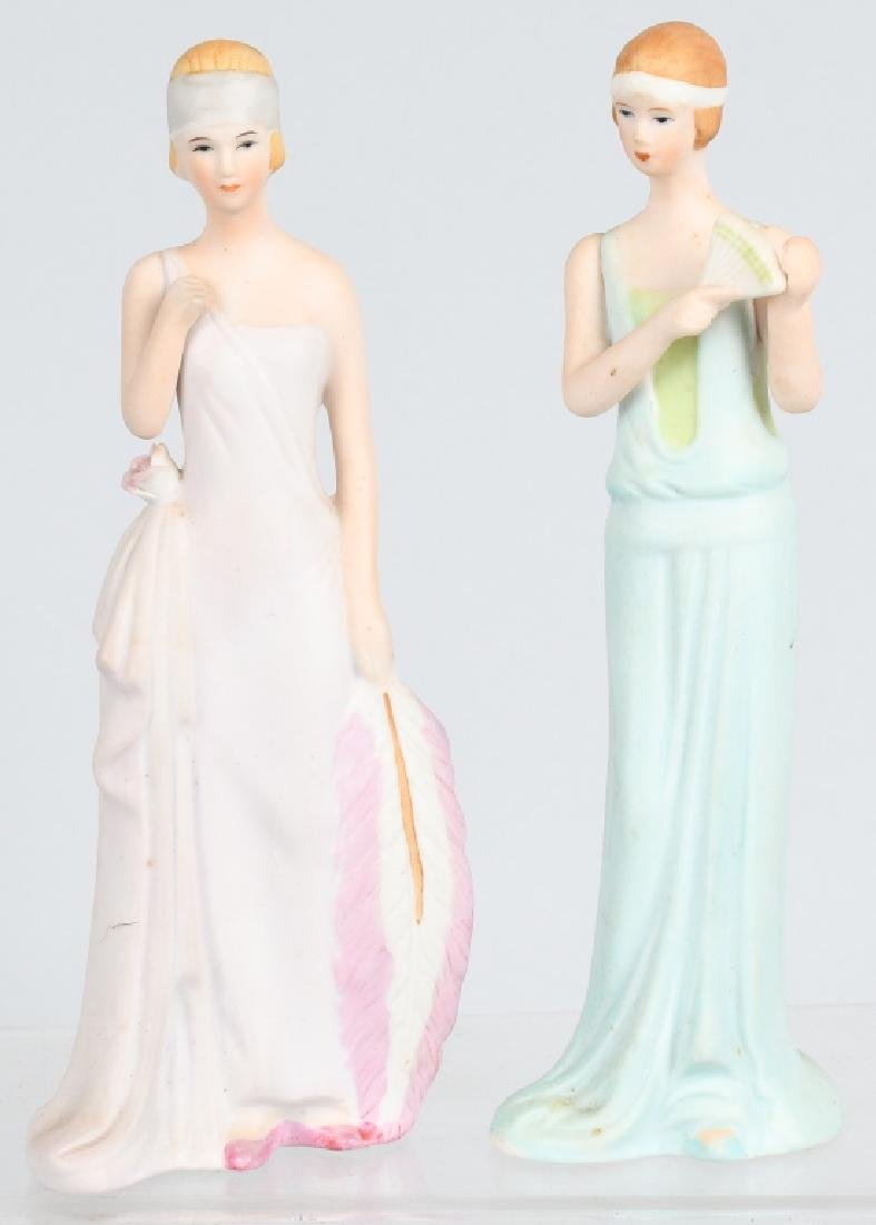 GROUPING PORCELAIN AND BISQUE FIGURES - 7