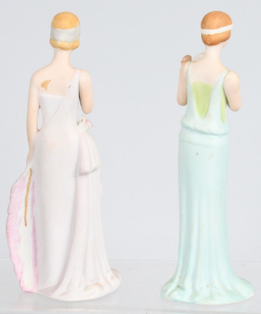 GROUPING PORCELAIN AND BISQUE FIGURES - 8