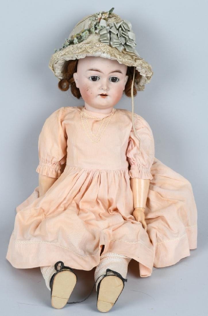GERMAN KARL HARTMANN BISQUE DOLL